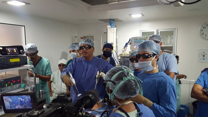 3d 4b - 3D HD Live Surgery Broadcast