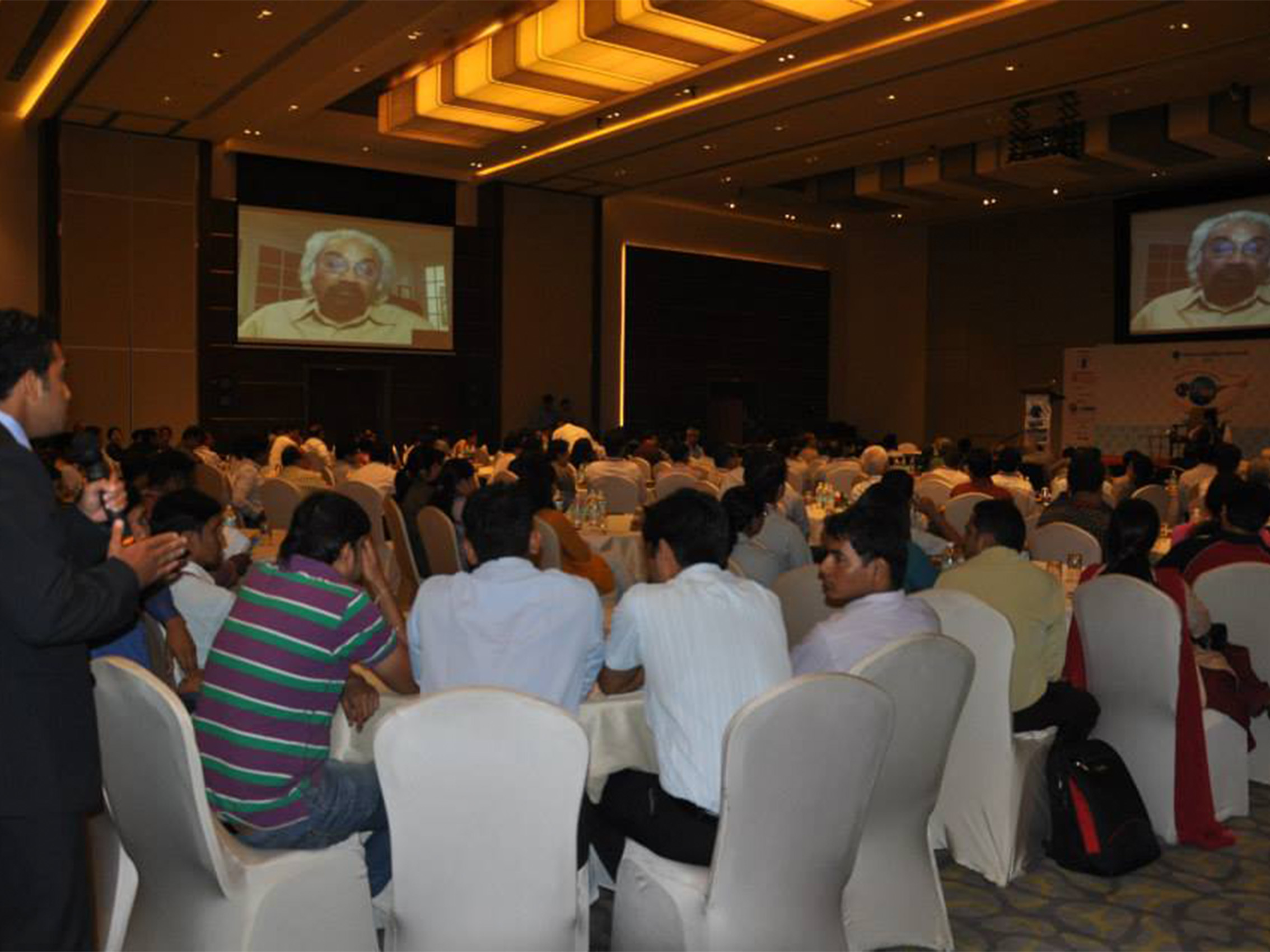 91761 BMA4 - Video Conferencing with Mr Sam Pitroda