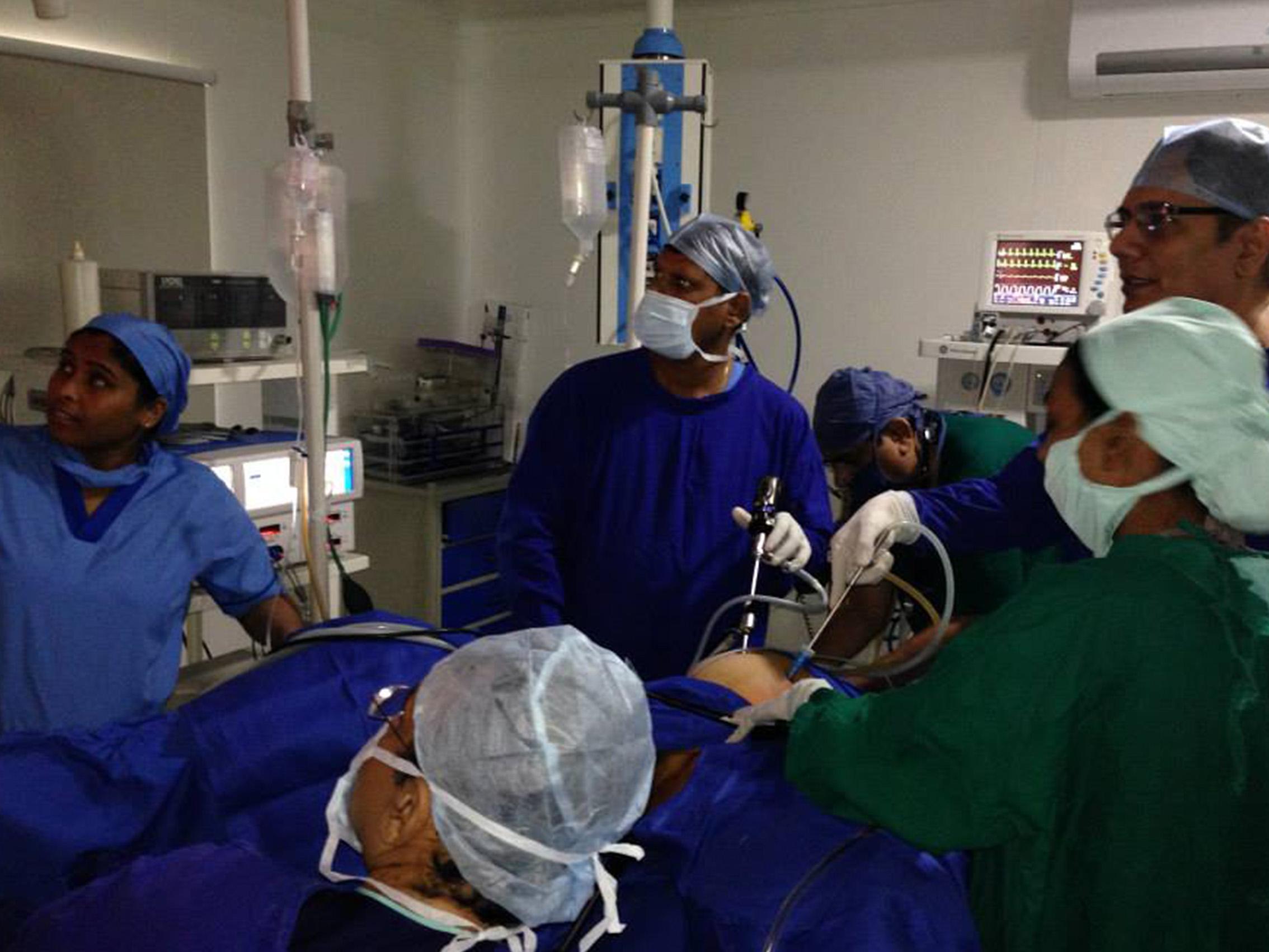 e3466 Medical Live Boradcasting 4 - Medical Live Workshop, Live Brocasting