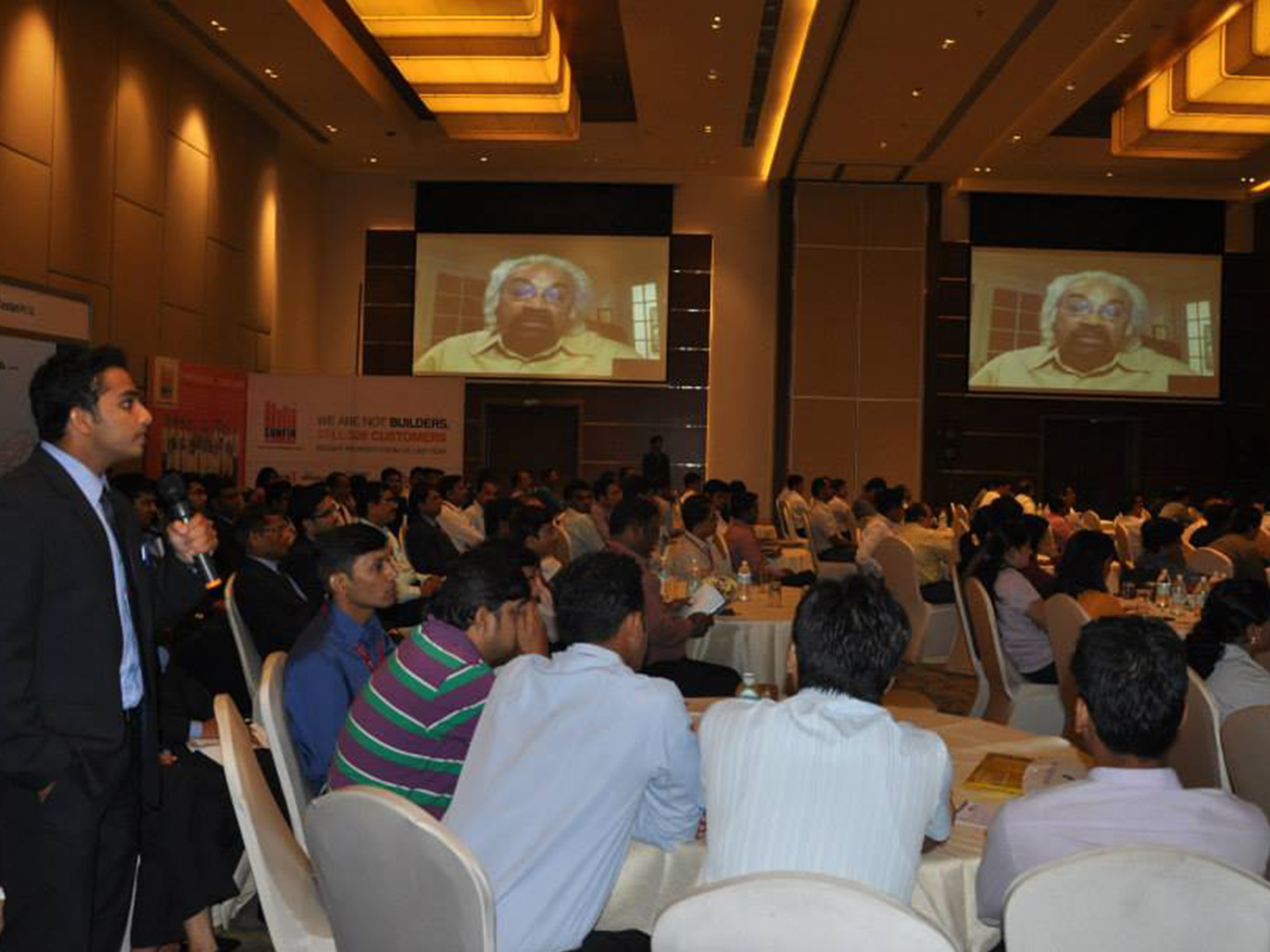 f3465 BMA5 - Video Conferencing with Mr Sam Pitroda